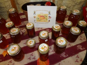 Local raw honey for sale maze fall festival
